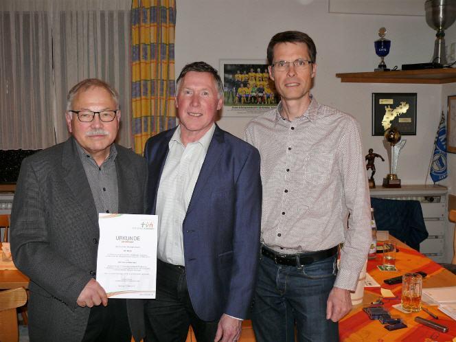 Vize Christoph Straub wurde zum neuen Vereinschef des TV Neulingen gewählt