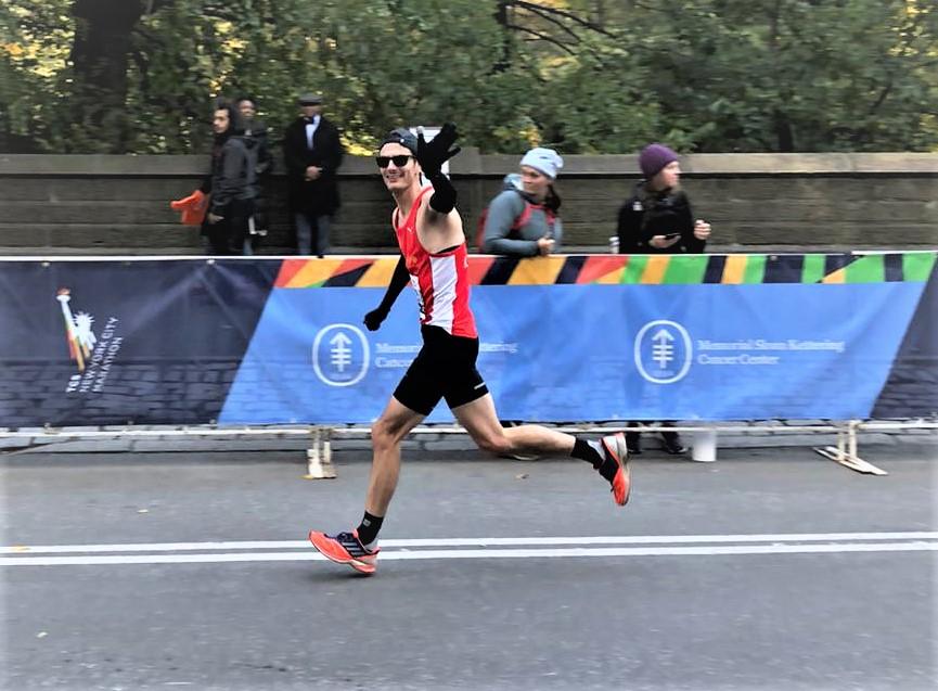 Lucas Bittigkoffer mit starker Leistung beim New York-Marathon